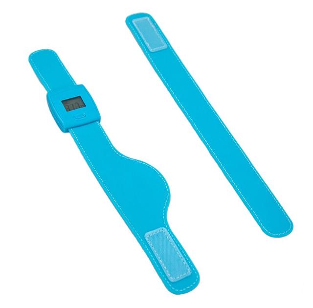 Cherub Hodinky - inteligentní teploměr, LCD, Bluetooth, děti, dospělé dítě, digitální měření teploty, modrá
