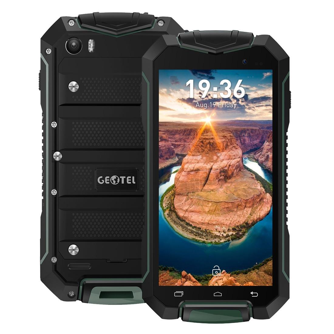 Geotel GEOTEL A1, 7.0 IP67, Android 7, Vodotěsný Corning Gorilla Glass, zelená