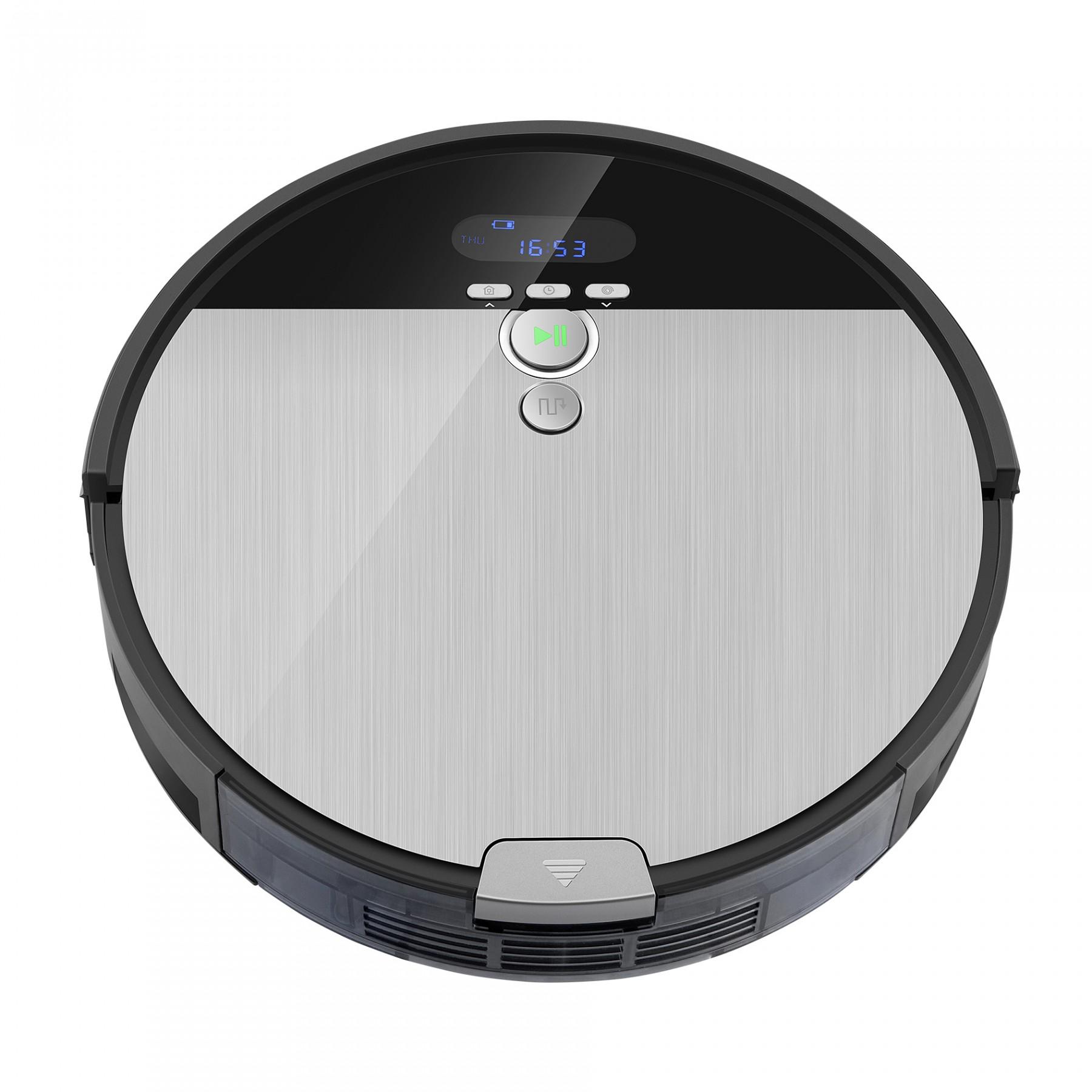 Chuwi ILIFE V8S, robotický vysavač s navigací, černé - šedá