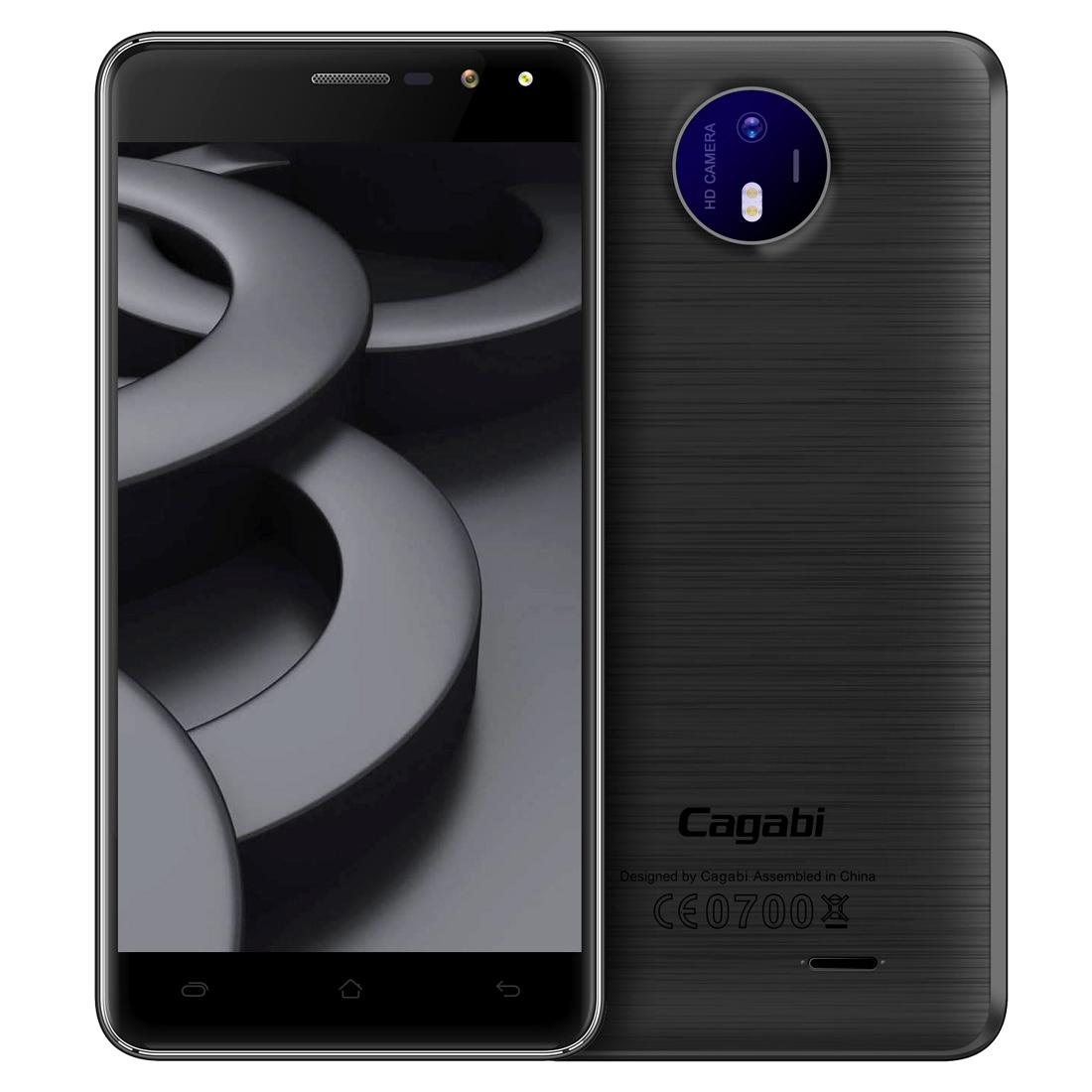 Cagabi Cagabi ONE, 1GB+8GB, černá