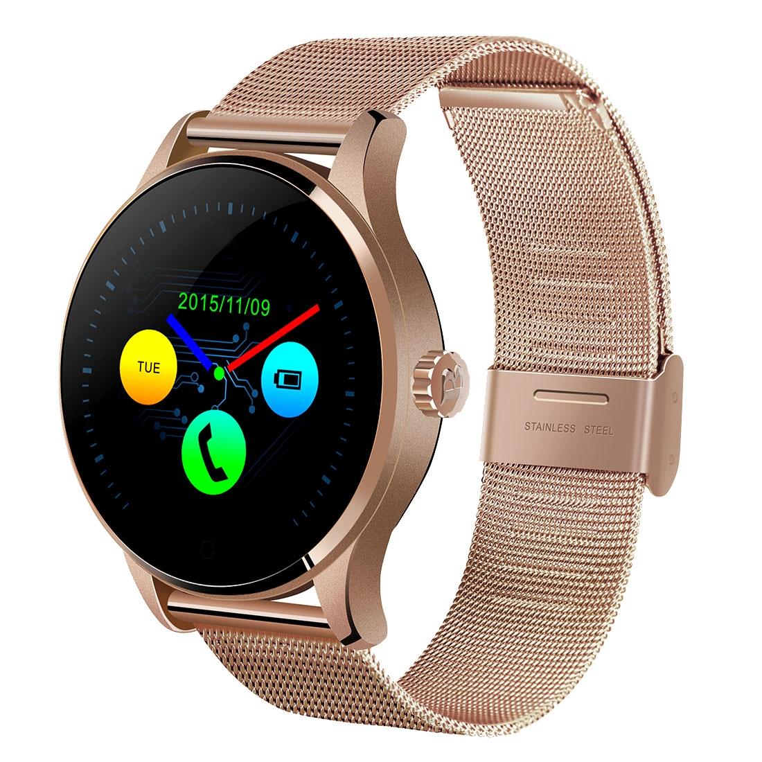 Vitmood Smart Watch K88H, nerez ocel růžově zlatá