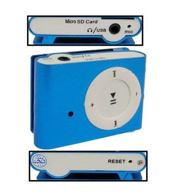 Generic Generic SC08, 5 v 1 MP3 přehrávač, digitální kamera, Fotoaparát, Hlasový záznam, U disk, 640 * 480 AVI, modrá