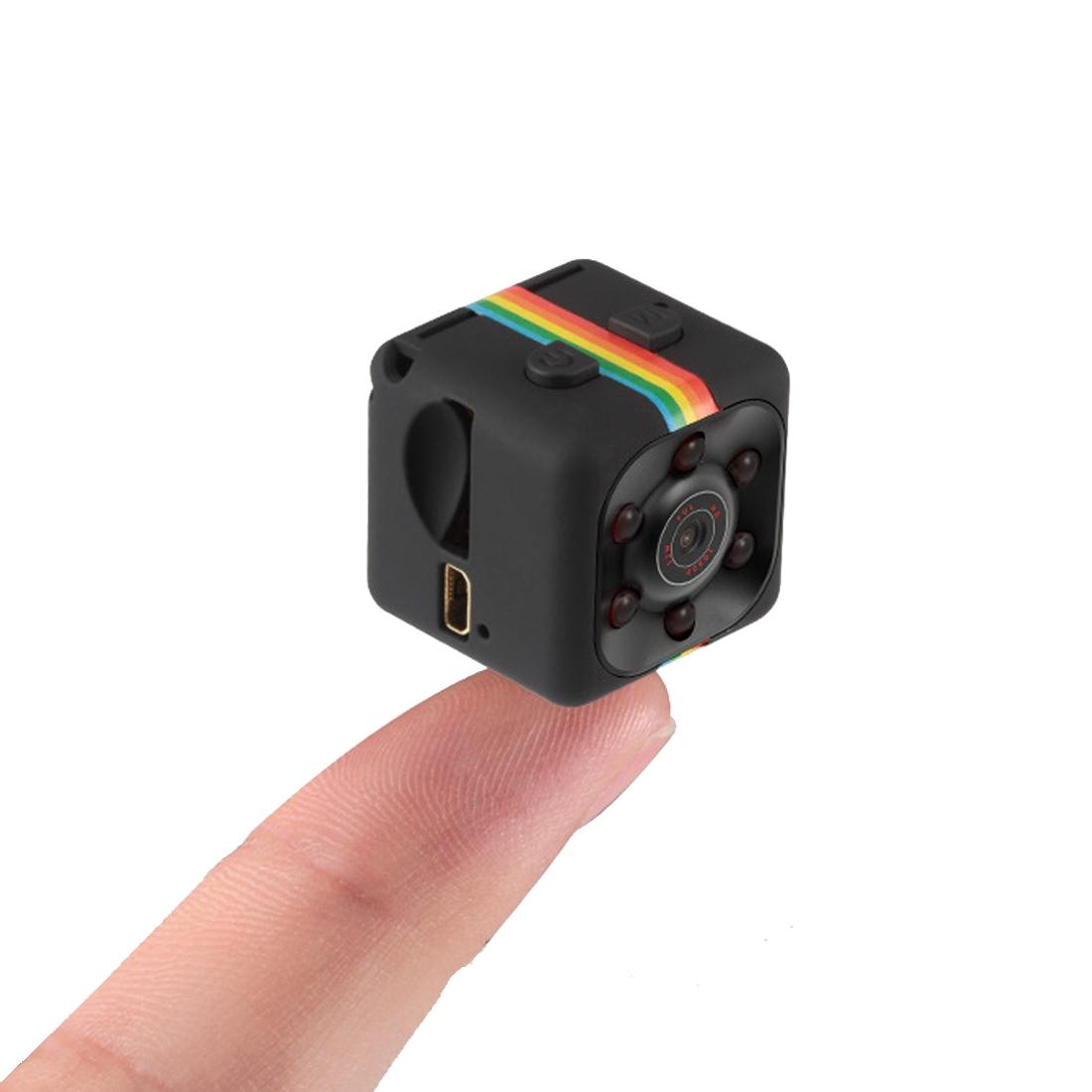 Generic Kamera Generic SQ11 Mini DV HD 1080P 2MP s rekordérem s držákem, podpora detekce pohybu, IR noční vidění, karta TF (černá)
