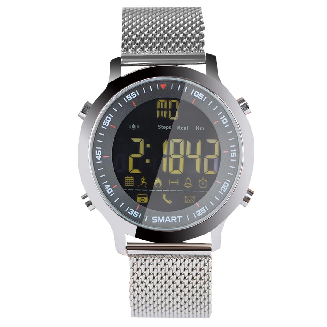 Xiaomi - EX18C Inteligentní sportovní hodinky FSTN obrazovka s plným náhledem, stříbrná