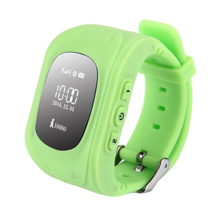 WECOULD WECOULD Q50 Dětské GPS hodinky, zelená