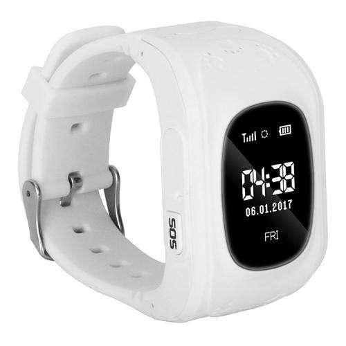 WECOULD WECOULD Q50 Dětské GPS hodinky, bílá