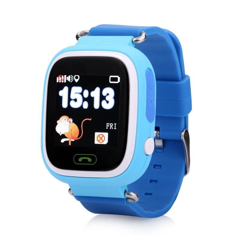 Wonlex® Wonlex Q90 Dětské chytré hodinky s GPS, modrá