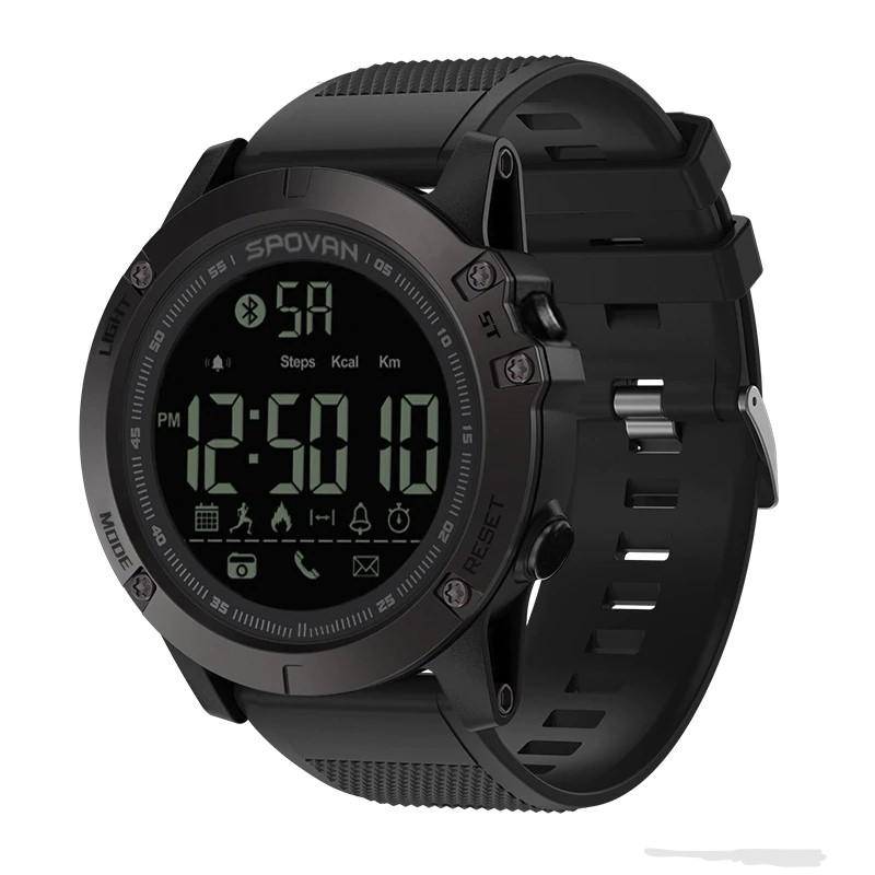 SPOVAN SPOVAN GV1224 pánské fitness chytré hodinky, černá
