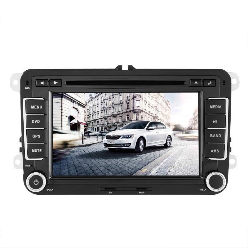 "Generic 2DIN DVD auto systém, GPS, RDS, CAN bus, 7"" LCD, černá"