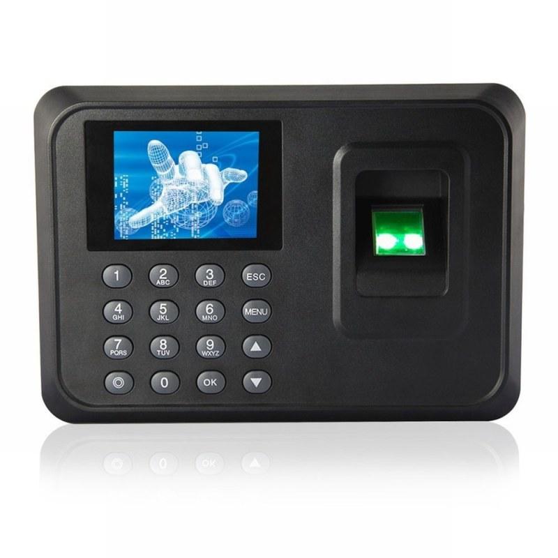Danmini Danmini A6 Vysoce kvalitní 2.4 TFT systém evidence docházky na otisk prstu, černá