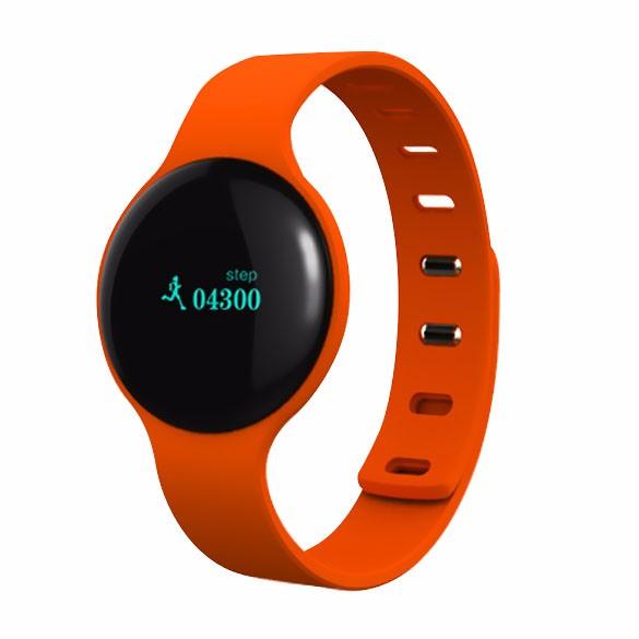 H8 Inteligentní náramek Bluetooth LED displej, oranžová