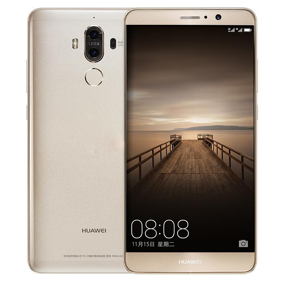 Huawei Mate 9, 4GB+64GB, plus smart hod. U80, gold