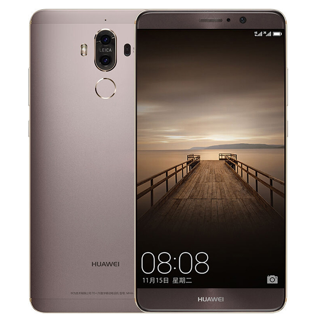Huawei Mate 9, 4GB+64GB, plus smart hod. U80, mocha gold