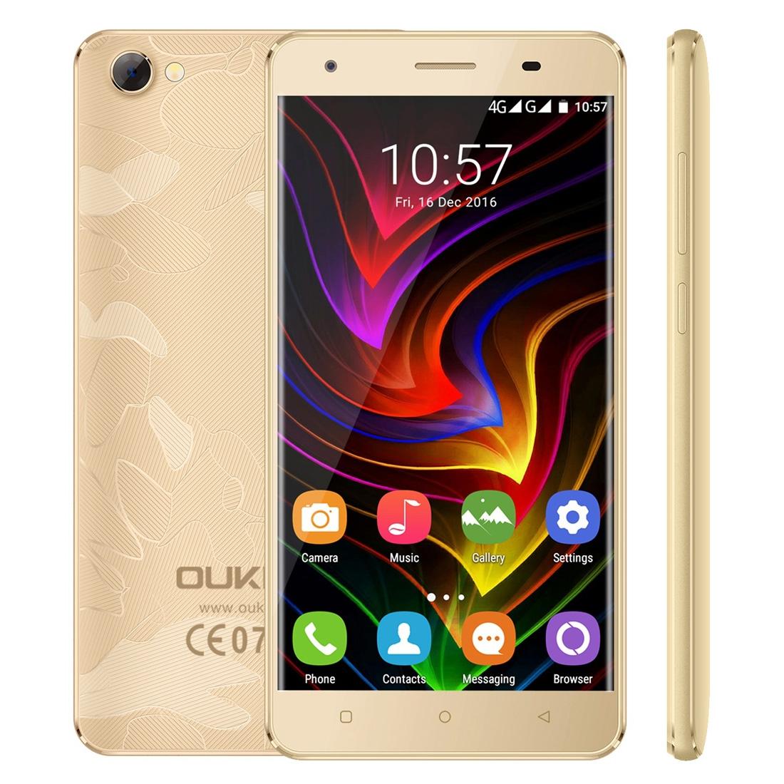 Oukitel OUKITEL C5 Pro CZ/SK, 2GB+16GB, gold