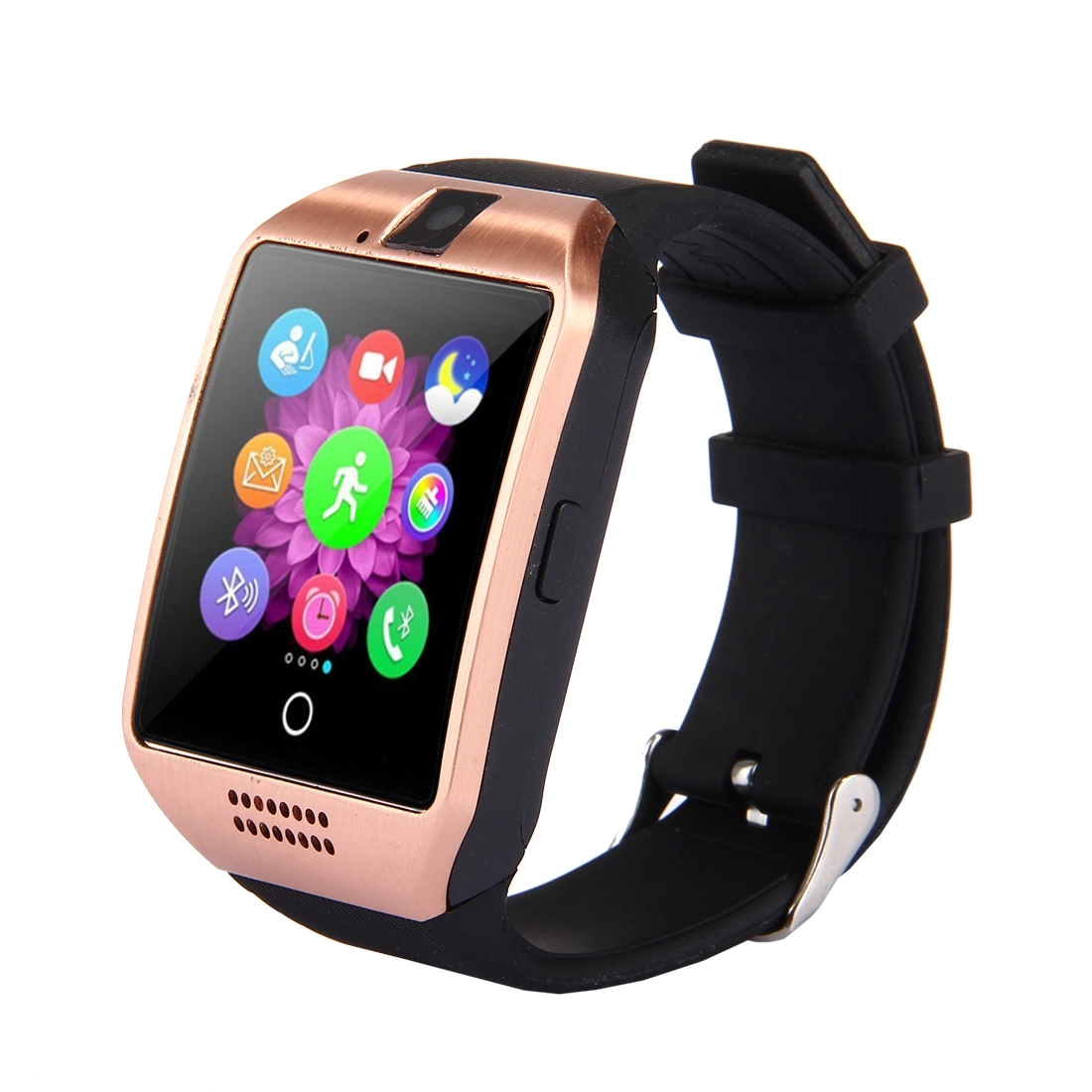 Smartwild Smart Watch Q18, KOMPLETNĚ V ČEŠTINĚ, SIM, zlatá