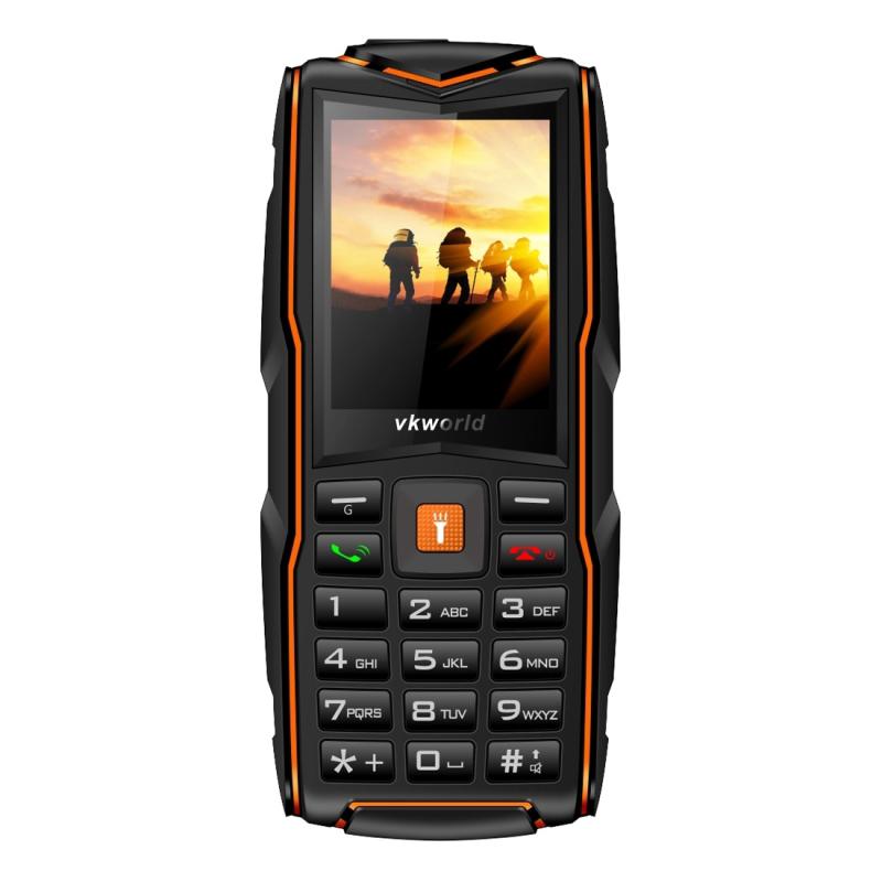 VKWORLD VKworld New Stone V3 SK, na tři SIM, bat. 3000 mAh, voděodolný, nárazuvzdorný, oranžová