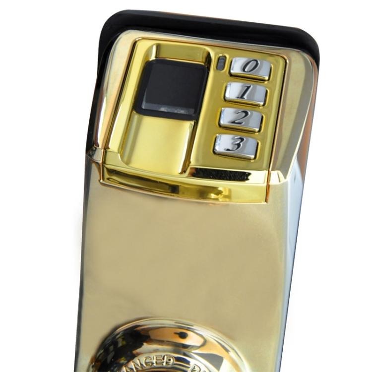ADEL ADEL DIY-3398 biometrický digitální zámek na otisk prstu, zlatá