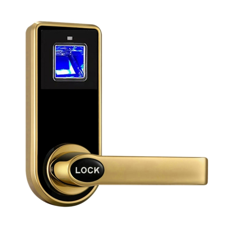 Rodanliu Rodanliu OS8818F optický zámek dveří na otisk prstů, champagne gold