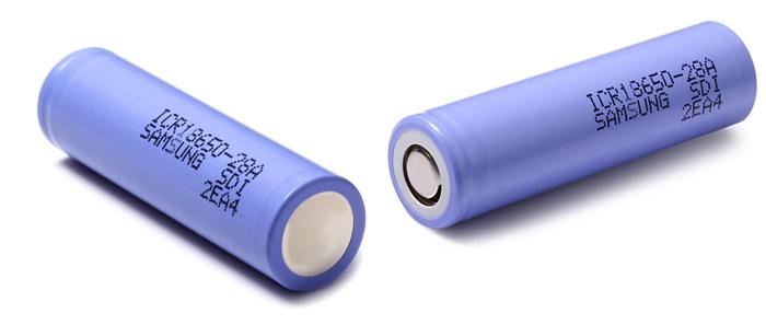 ICR18650 - 28A 18650 2800mAh 3.7V lithium-iontová baterie