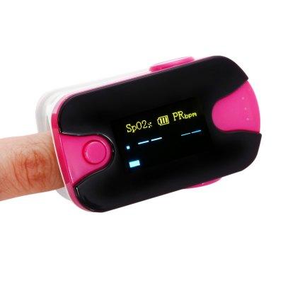 Generic HY105 Fingertip pulsní oxymetr, červená