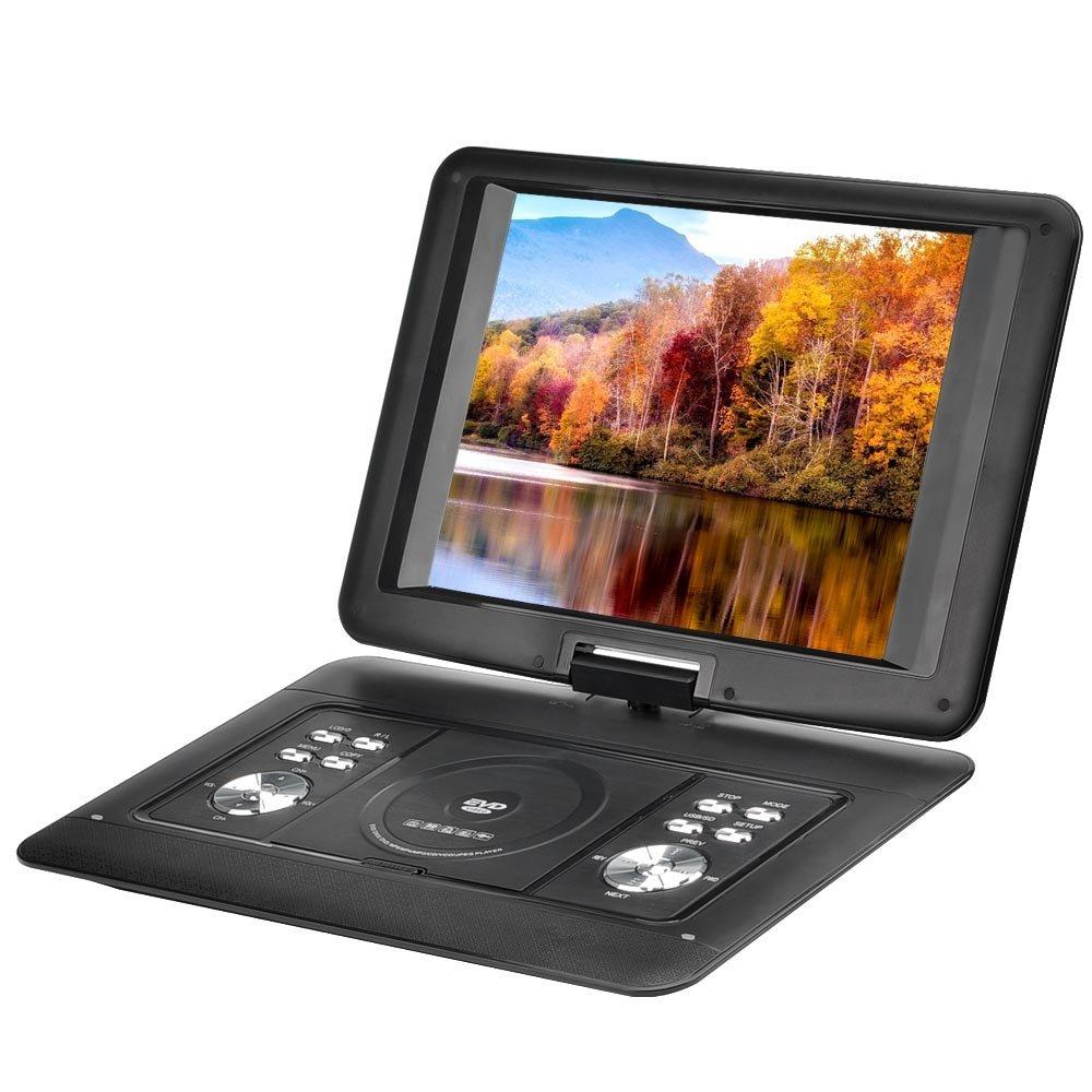 """Generic EDVD15, 3D, přenosný EVD/DVD přehrávač,15.4"""", TV, FM radio, hry, černá"""