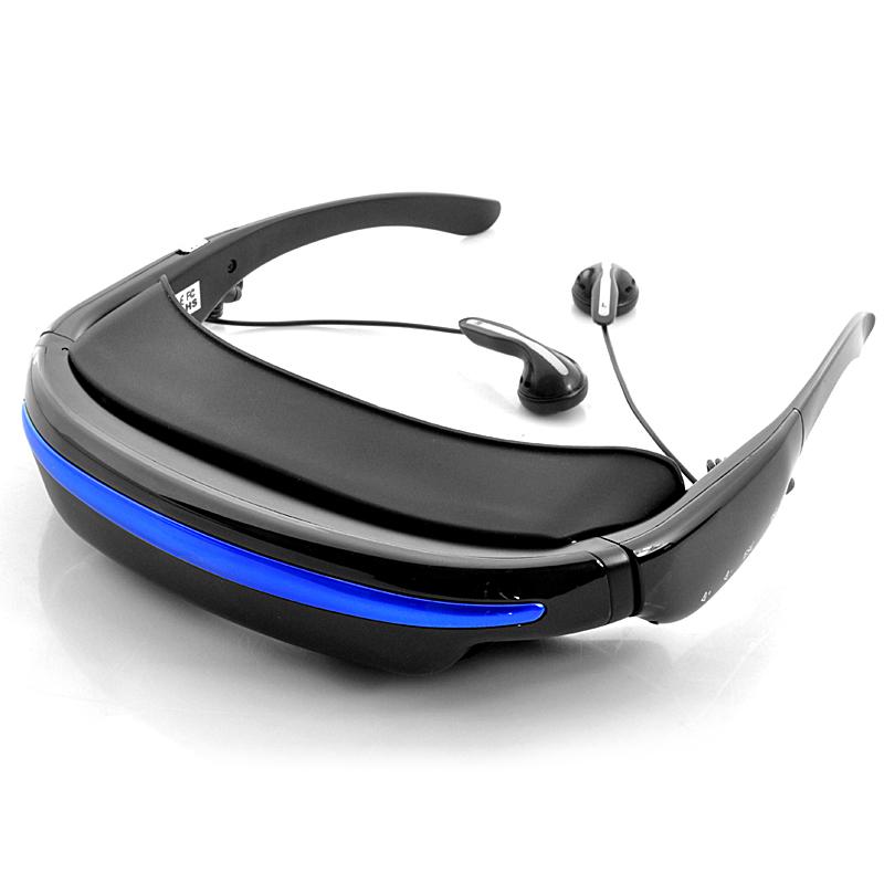 Generic Theater 3D Glasses CZ, 52 palcová virtuální obrazovka, menu v češtině, černá