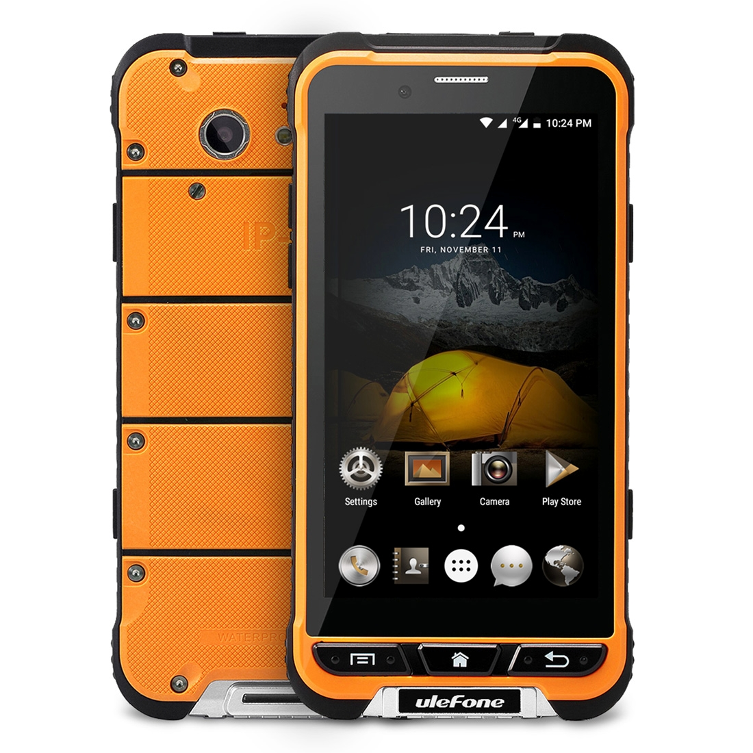 uleFone Ulefone Armor - Octa-Core, Android 6.0, IP68, 3GB RAM, Gorilla Glass 3, 13MP, oranžová