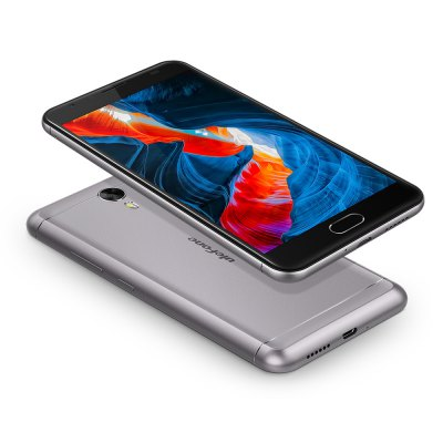 Ulefone Power 2, 4G, Octa-Core CPU, 4GB RAM, 1080p, 6050mAh, 13MP, stříbrná