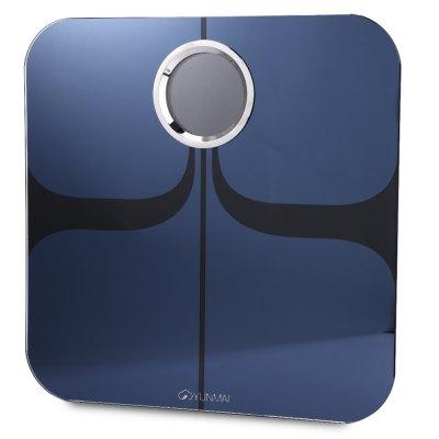 YUNMAI YUNMAI M1301 Bluetooth 4.0 Inteligentní osobní váha, modrá