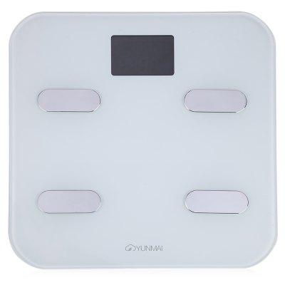 YUNMAI M1302 Bluetooth 4.0 Inteligentní váha, bílá