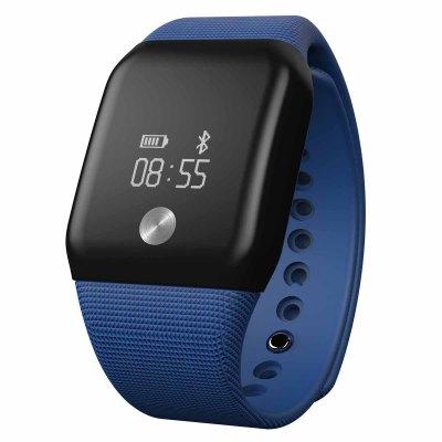 Bestdeal® OLED A99 Dynamic smart hodinky s monitorem tepové frekvence a kyslíku v krvi, modré