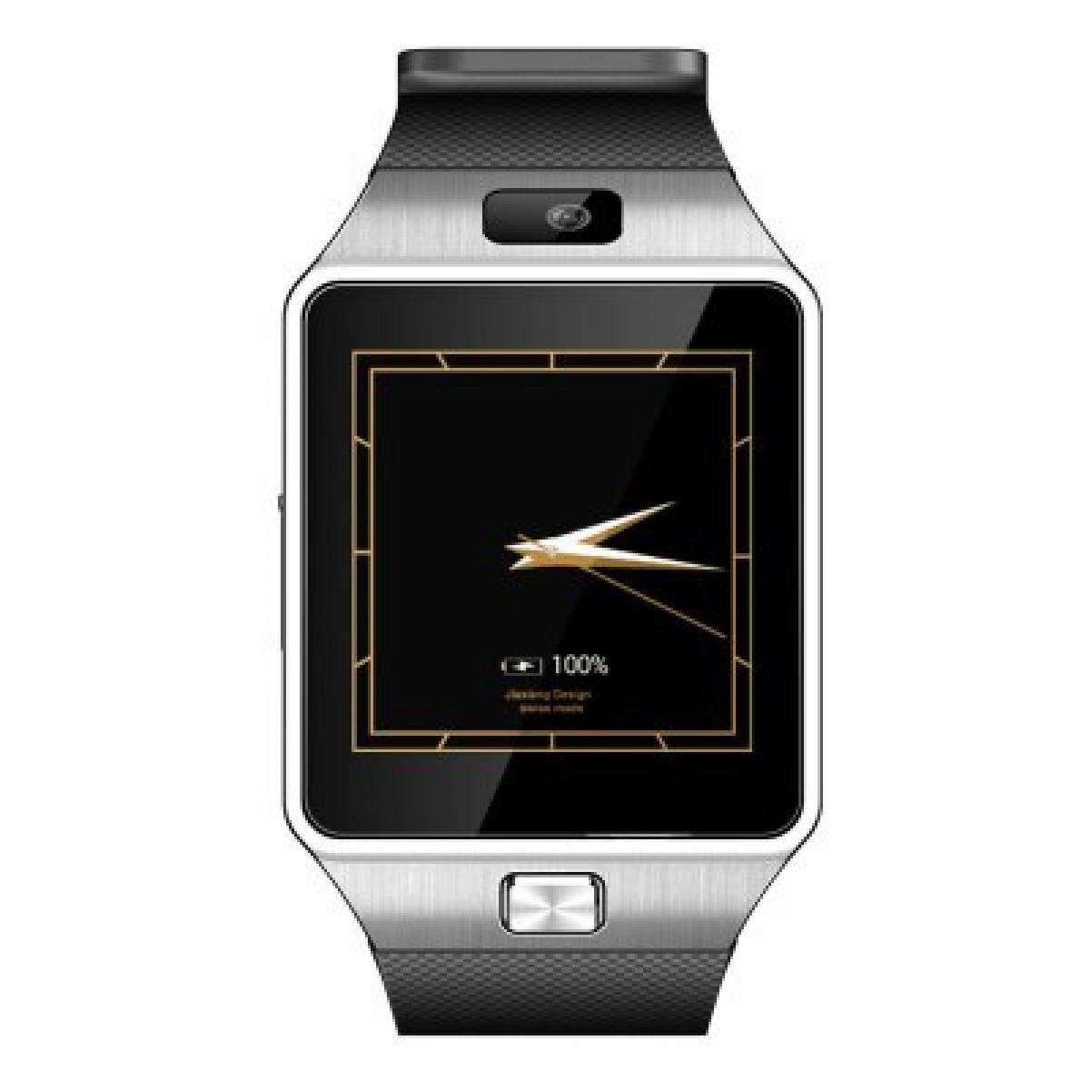 QW09+ CZ/SK, Dual-core hodinky s telefonem v češtině a slovenštině, WIFI, šedo-stříbrná