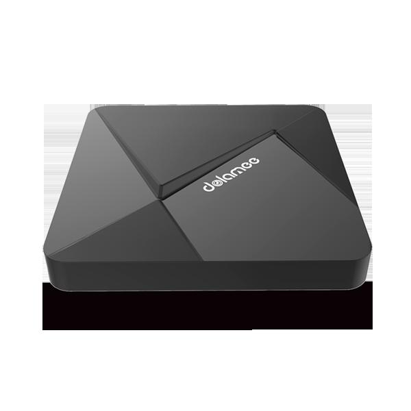 Dolamee Dolamee D5 CZ, Android TV Box, černá