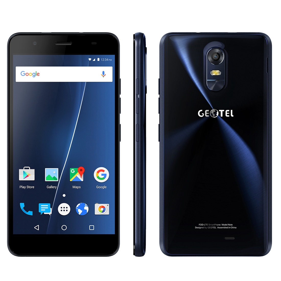 GEOTEL NOTE, 3GB+16GB, LTE, Android 6.0, temně modrá