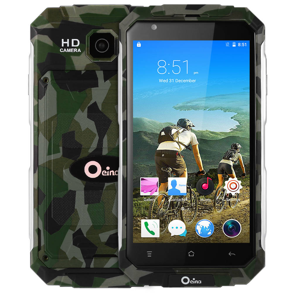 Oeina XP7711CZ/SK 3G smartphone, kamufláž