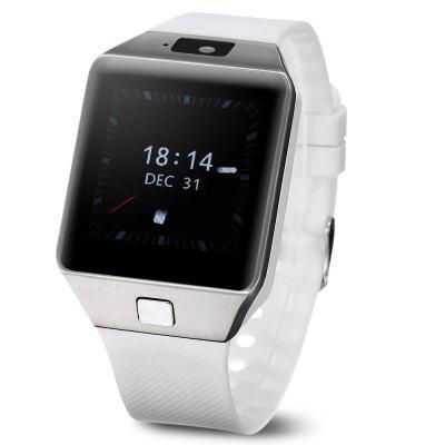 QW09+ CZ/SK, Dual-core hodinky s telefonem v češtině a slovenštině, WIFI, bílo-stříbrná