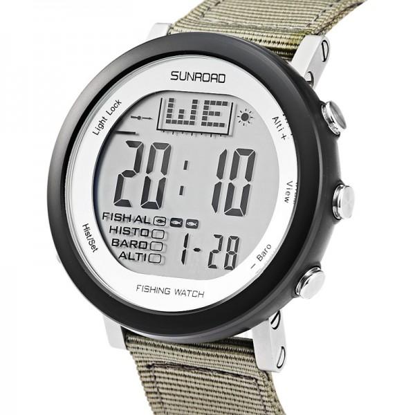 Sunroad Sunroad FR721 sportovní smart hodinky s barometrem, předp. počasí, atd. šedá