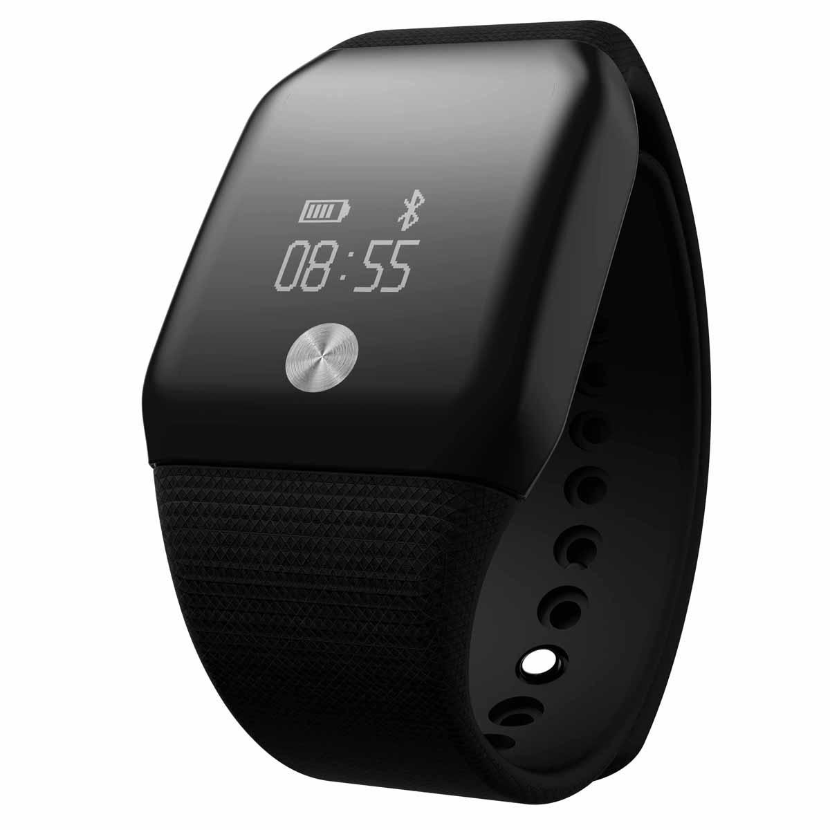 Bestdeal® OLED A99 Dynamic smart hodinky s monitorem tepové frekvence a kyslíku v krvi, černá