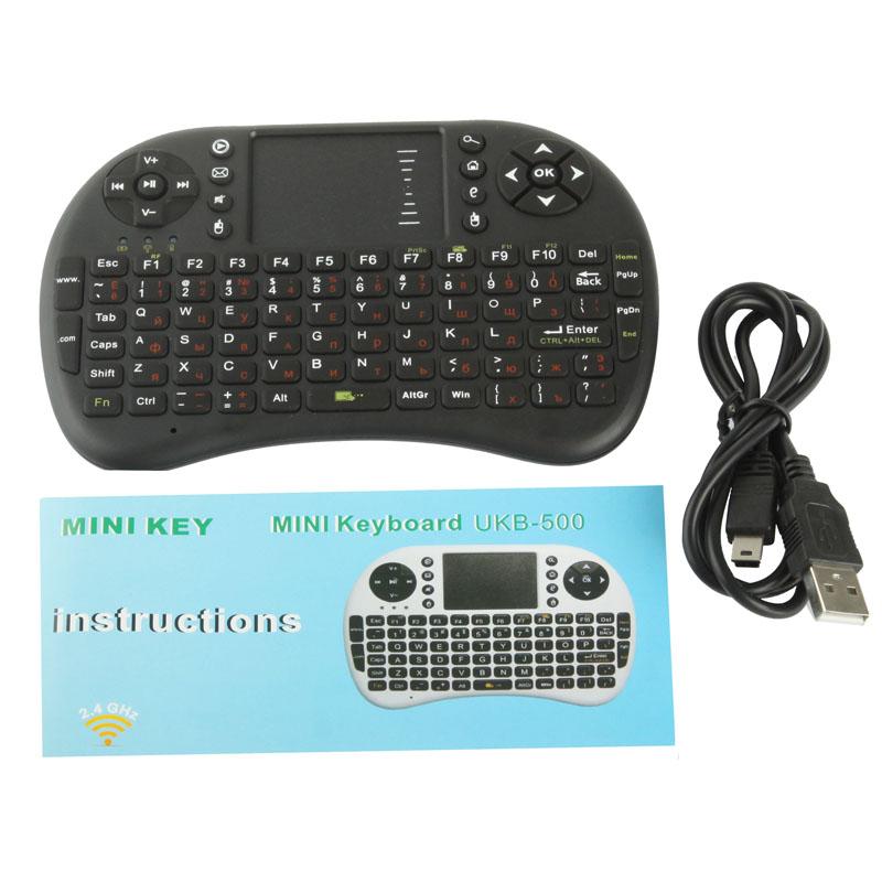 Generic UKB-5400-RFc, 2.4GHz Mini bezdrátové combo, černá