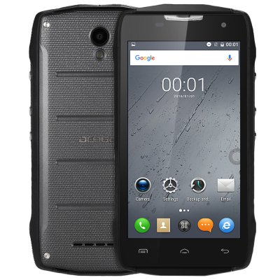 Doogee T5S CZ/SK, 4G, 2GB/16GB, Gyroskop, černá