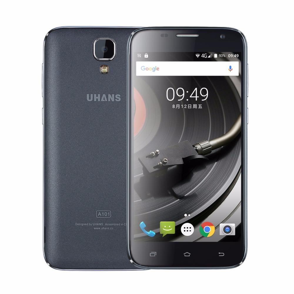 UHANS A101S CZ, Android 6.0, 2 GB/16 GB, šedá