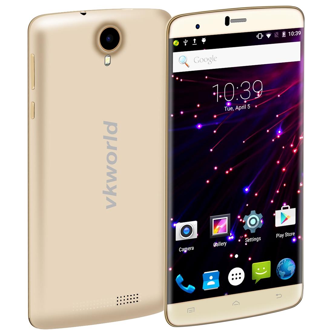 VKworld T6 16GB, 4G, LTE distribuce CZ, zlatá
