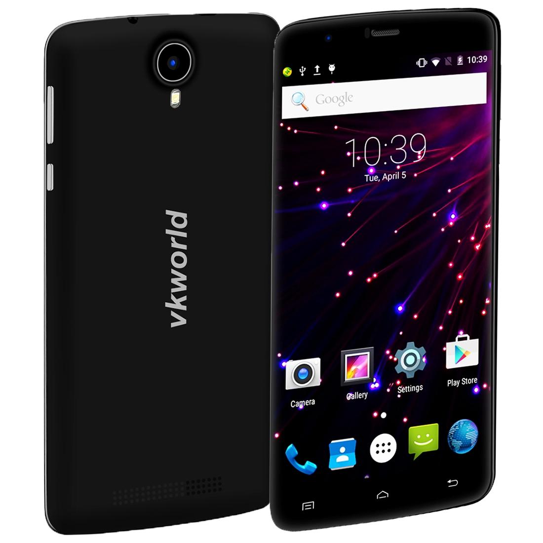 VKworld T6 16GB, 4G, LTE distribuce CZ, černá