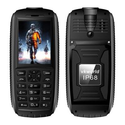 Vkworld Stone V3 Max Quad Band, dual SIM, 5300mAh baterie odolný telefon, černá