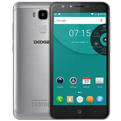 """Doogee DOOGEE Y6 CZ/SK Octa-core 5.5"""" stříbrná, Varianty cen Záruka 24 měsíců"""