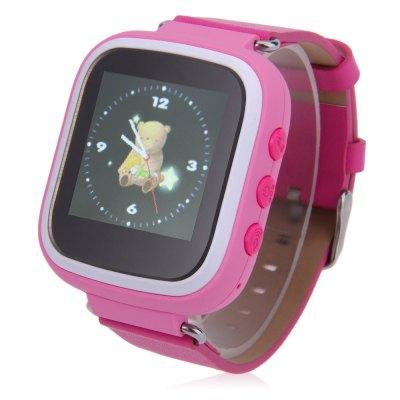 Degree Q523 dětské GPS chytré hodinky, pink