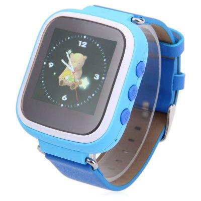 Degree Degree Q523 dětské GPS chytré hodinky,modré