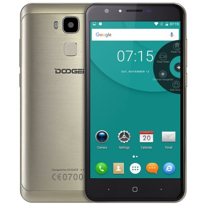 "DOOGEE Y6 CZ/SK Octa-core 5.5"" zlatá"