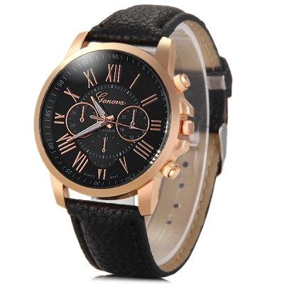 Geneva GENEVA dámské hodinky Quartz, černá