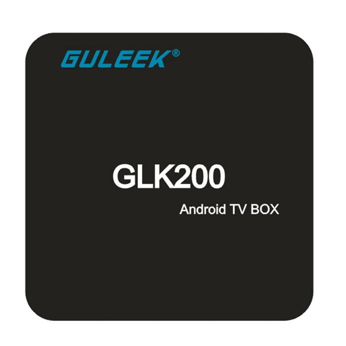 Guleek GLK200 Amlogic S905 Quad-core 64bit TV Box s KODI 16, černá